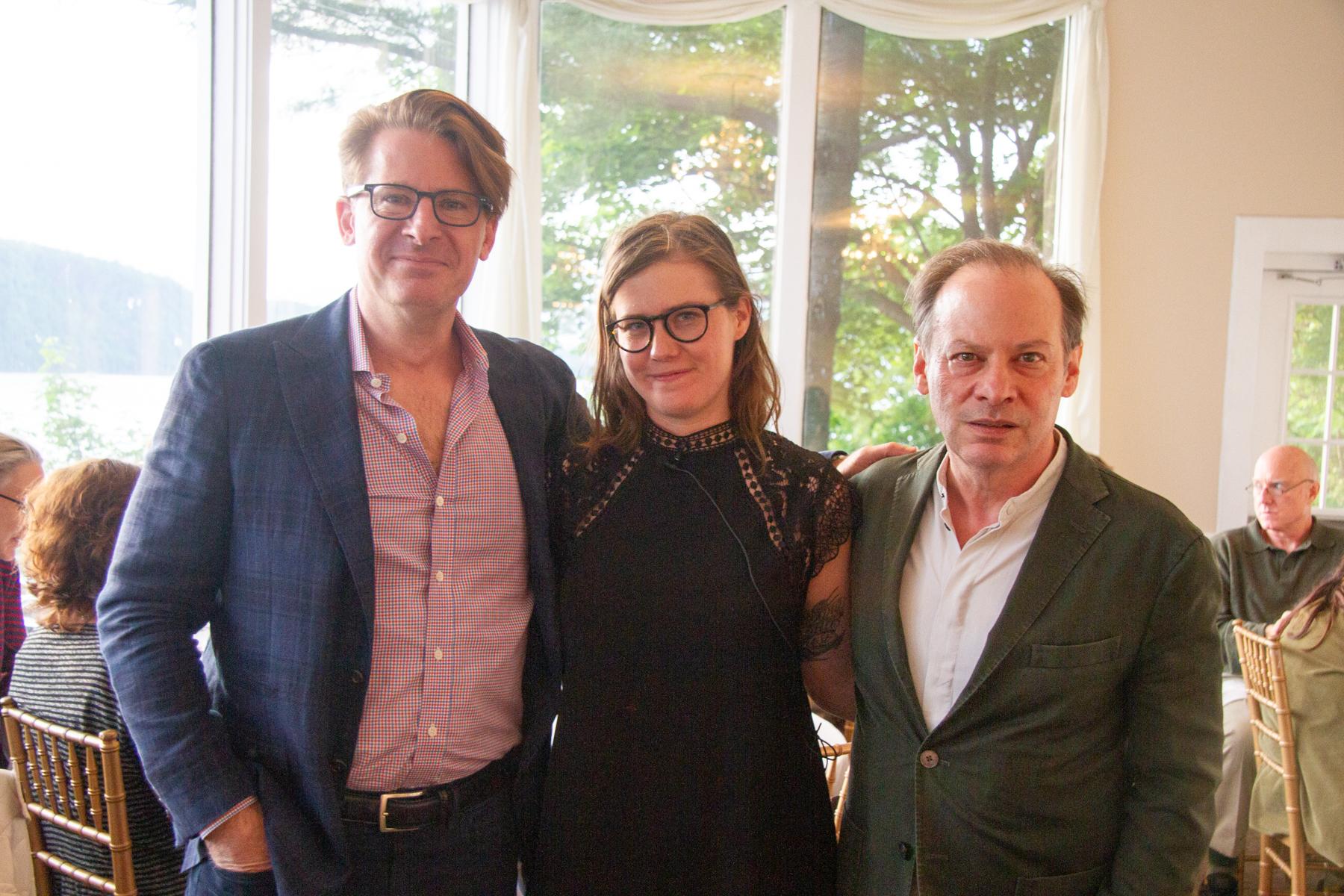 John Burnham Schwartz, Erin Lee Carr, & Adam Gopnik
