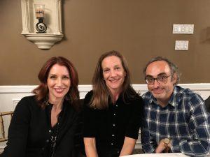 Nancy Balbirer, Kathryn Harrison and Gary Shteyngart