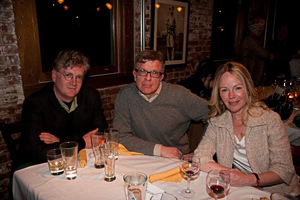 Jonathan Dee, Tad Friend, and Dani Shapiro