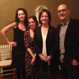DeLauné Michel, Rebecca Mead, Debbie Stier, and Ben Marcus