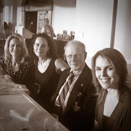 Alexandra Styron, DeLauné Michel, Michael Korda, and Jennifer Cody Epstein