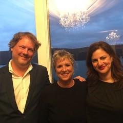 Jeff Gordinier, Eve Ensler Taffy Brodesser-Akner
