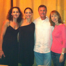 DeLauné with Jennifer Grant, Robert Crais, Lisa See