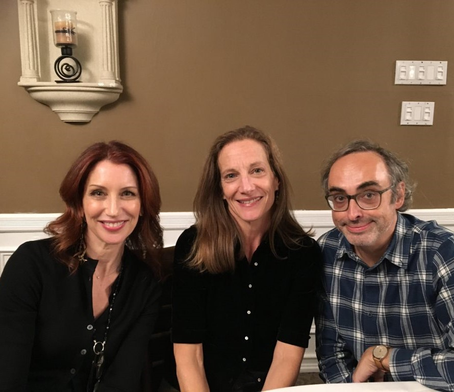 Nancy Balbirer, Kathryn Harrison and Gary Shteyngart